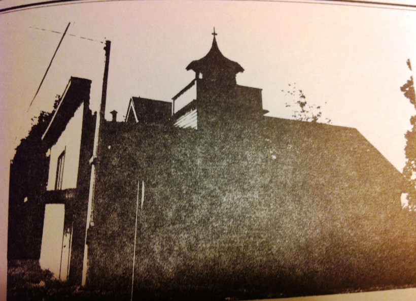 Long-gone church on River Road and Courtney Avenue.
